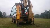 Młot hydrauliczny do koparko-ładowarki JCB 3CX CAT 428 CASE 580