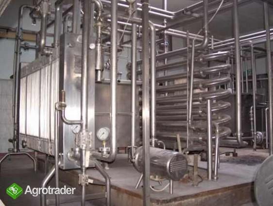 linia przerobu mleka - pasteryzatory - zdjęcie 1
