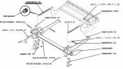 HESSTON 5670 - 2 sprężyny naciągu oryginał
