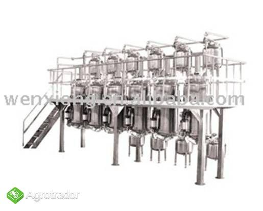 Ekstraktor wodny i rozpuszczalnikowy - zdjęcie 1