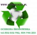 Ochrona środowiska w rolnictwie, usługi,opłaty,