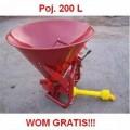 Rozsiewacz / Piaskarka PRW 260 L  (do rozsiewania