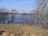 Działka rekreacyjna nad jeziorem