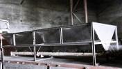 Kosz przyjęciowy do zbóż itp. 4,6m – 5,6m, wydajność ok. 25 t/h