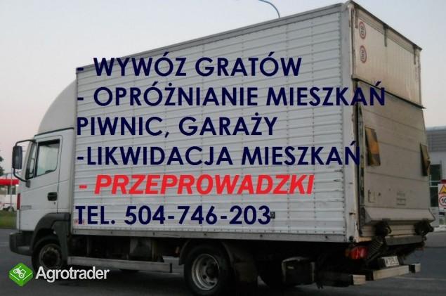 przewóz, transport samochodem z windą, Wrocław, wy - zdjęcie 2