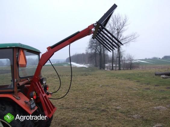 Ładowacz - tur na tył ciągnika NOWY widły - zdjęcie 3
