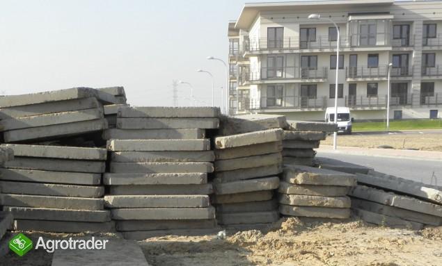 Płyty drogowe betonowe  MON / Warszawa 50zł - zdjęcie 1