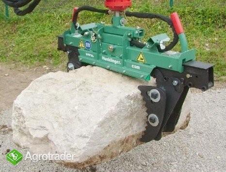 Hydrauliczny chwytak do krawężników - zdjęcie 2