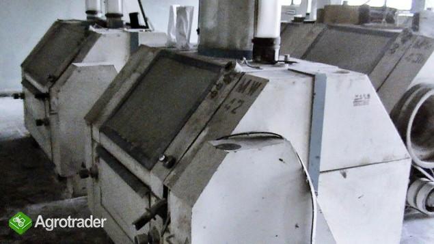 Mlewnik Gniotownik Zgniatacz ( 4-walcowy 80-tka ) FM-02 zdemontowany. - zdjęcie 1