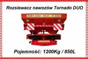 Dexwal ROZSIEWACZ NAWOZÓW TORNADO DUO 850 L 1200 KG 2016