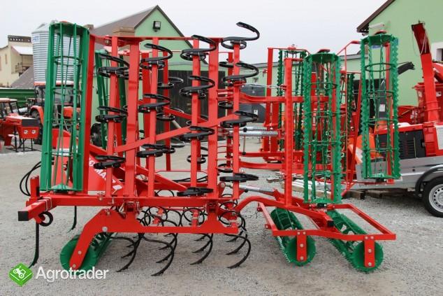 Agregat uprawowy hydrauliczny AGRO-MASZ hydraulicznie składane - zdjęcie 4