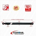 Cylinder hydrauliczny siłownik  CJ2F-50/40/630 L:870 SKOK 630