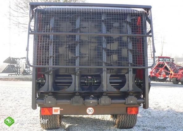 Rozrzutnik obornika Metal-Fach N267 - 8t - zdjęcie 7
