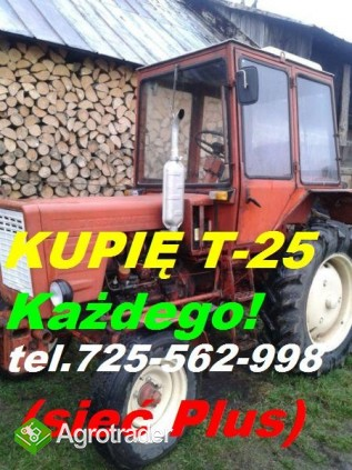 Kupię Władymirca t-25 Ursusa C-325 C-328 C-330 C-4011 C-355 C-360 C-36