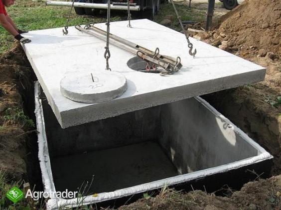 szamba betonowe z atestem i 2-letnią gwarancją, transportem, montażem - zdjęcie 2