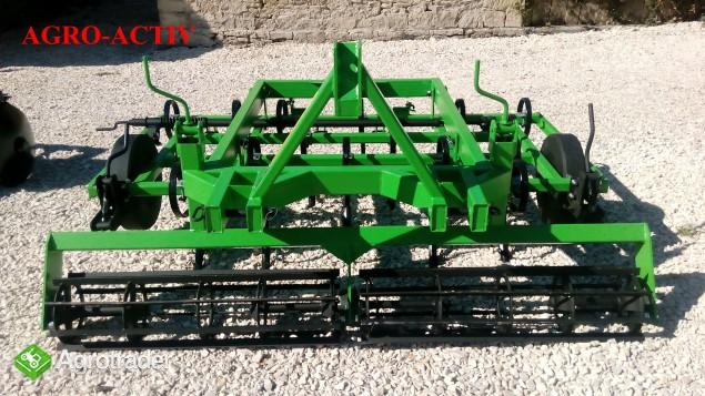 Agregat Uprawowy Zawieszany V2/18 2m ROLEX AGRO-ACTIV