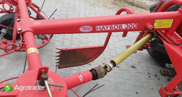 Przewracarka przetrząsarka do siana HAYBOB 300 - zdjęcie 2