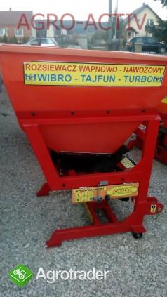 Rozsiewacz Nawozowo-Wapienny TAJFUN 600 L NOWY Dexwal Agro-Activ - zdjęcie 1