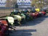 prasy Krone Carraro ciągniki JD MF Zetor - 100 szt na placu, FV