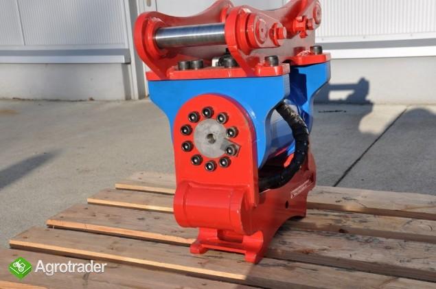 Euro-Maszyny Szybkozłącze obrotowe hydrauliczne TILTRATON do maszyn 10 - zdjęcie 2