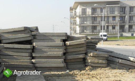 Płyty drogowe betonowe Jumbo 20 cm / Żagań 50-60zł sztuka - zdjęcie 1