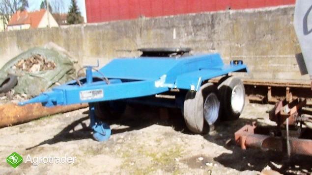 Wózek z siodłem 2 osie (Tandem) po odbudowie. - zdjęcie 1