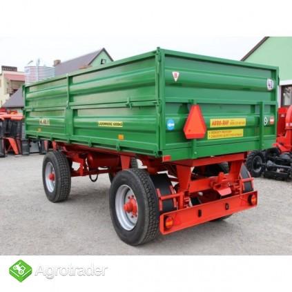 Przyczepa rolnicza ciężarowa 6 ton HL 6011 jak nowa okazja - zdjęcie 1