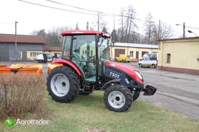 Ciągnik rolniczy komunalny pomocniczy TYM T 503 nowy  sprzedaż