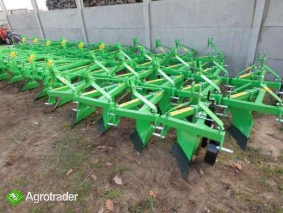 Pług do orania 2- skibowy mini traktorek kubota hinomoto yanmar iseki  - zdjęcie 5