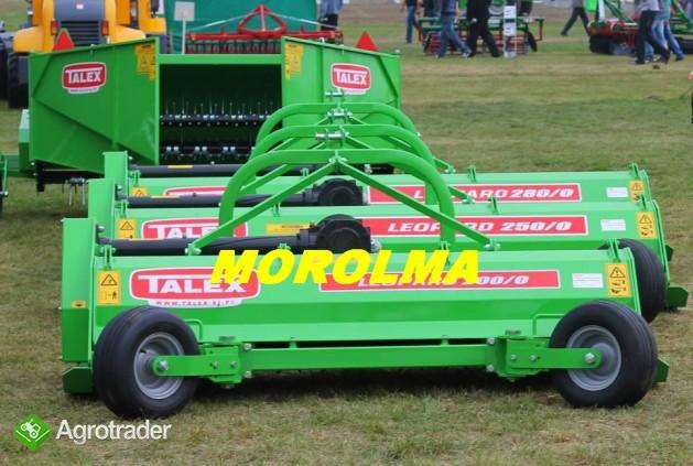 Kosiarka bijakowa rozdrabniacz bijakowy TALEX LEOPARD do kukurydzy tra