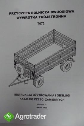Katalog Pronar przyczepy,maszyny użytkowe,Instrukcje obsługi. - zdjęcie 4