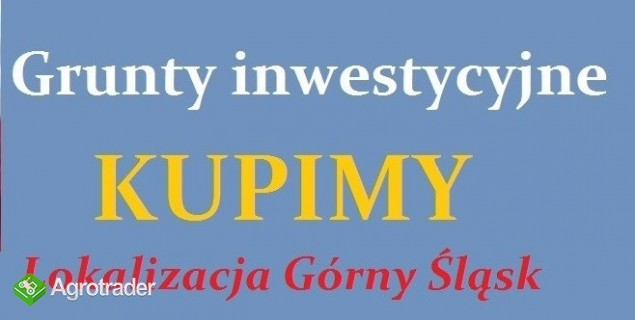 25 ha gruntów inwestycyjnych poszukuję G.Śląsk