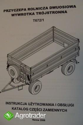 Katalog PRONAR Część Zamiennych, Instrukcje Obsługi - Przyczepy - zdjęcie 3