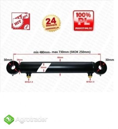 CYLINDER hydrauliczny SIŁOWNIK tłok skok 250 2-str - zdjęcie 2