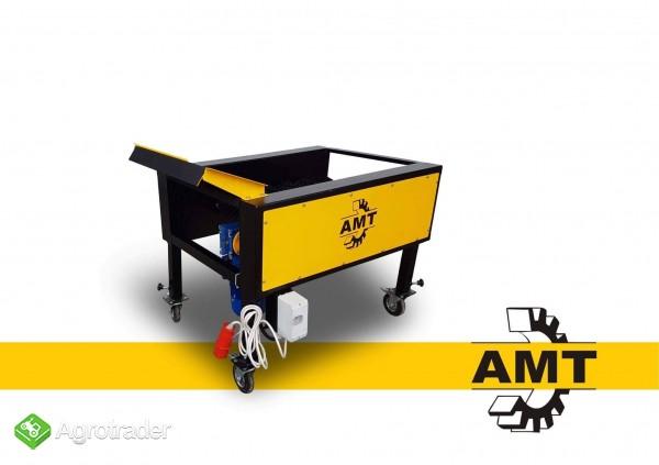 AMT,czyszczarka gumowa, szczotkarka, separator ziemi  - zdjęcie 2
