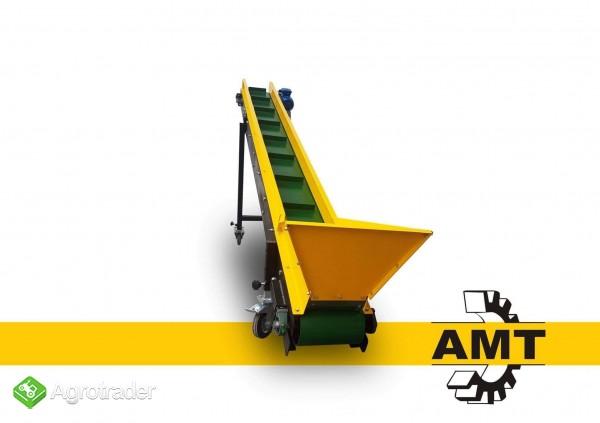 AMT,Kosz przyjęciowy, dozujący, zasypowy, bunkier,podajnik - zdjęcie 1