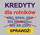 Kredyty dla rolników bez BIG InfoMonitor, KRD, ERIF, MIG BR (ZBP)