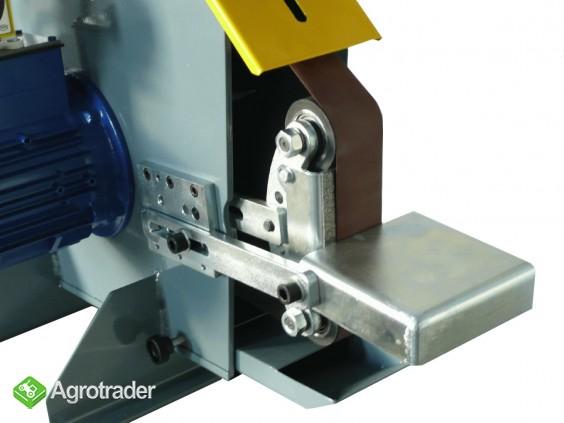 Szlifierka taśmowa do metalu - stacjonarna stołowa  - zdjęcie 3