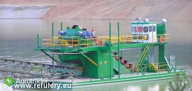 Pogłębiarka wielonaczyniowa, pogłębiarka wieloczerpakowa, refuler - zdjęcie 2