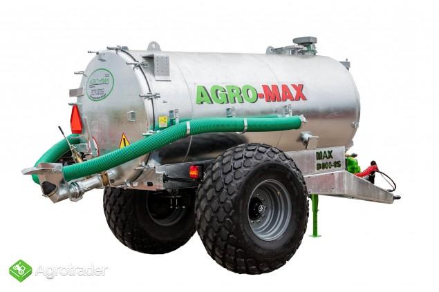 Beczkowóz wóz asenizacyjny jednoosiowy agro-max  - zdjęcie 1