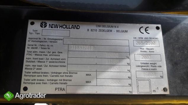 Kombajn zbożowy New Holland CX 860 - zdjęcie 5