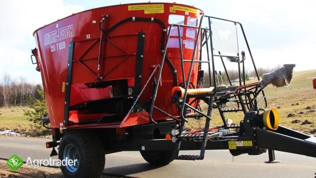 Wóz paszowy, paszowóz METAL- FACH obniżony do niskich obór - zdjęcie 2