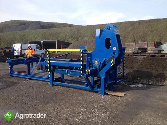 Urządzenie maszyna do łamania szyn kolejowych - złom szyny - zdjęcie 1