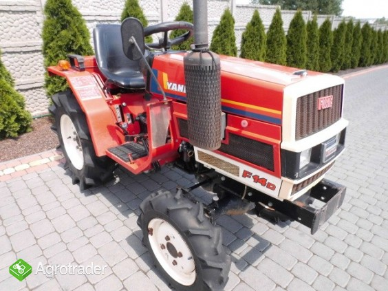 Yanmar F14 super stan mini traktor kubota iseki mitsubishi