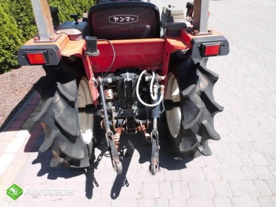 Yanmar F-6 Super stan mini traktor traktorek kubota iseki - zdjęcie 2