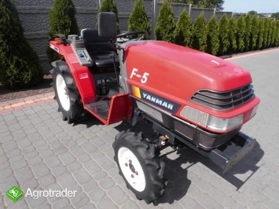 Yanmar F-5 4x4 super stan kubota iseki mini traktor