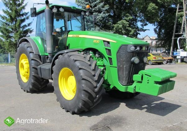 Ciągnik rolniczy JOHN DEERE 8530 TLS - 379 KM - 2008 ROK - zdjęcie 2