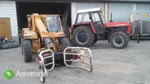 ładowarka i ciągnik sprzedam  - zdjęcie 1