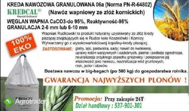 Kreda Nawozowa KREDCAL 06a (Kornica) granulat 100% eco