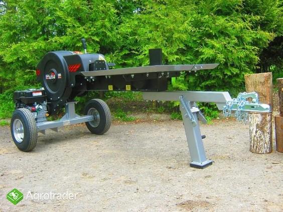 Łuparka kinetyczna: nacisk 35 T, 6,5 kM, max. długość materiału 55 cm - zdjęcie 3